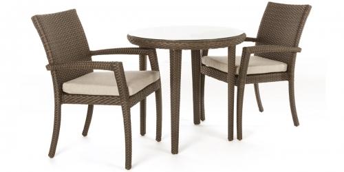 Chaise de jardin exterieur tecla ogni for Table deux personnes