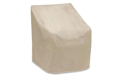 Outdoor chair protective cover