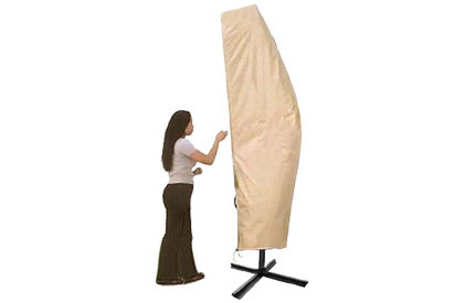 Patio umbrella cover by Treasure Garden designed for 8, 9 or 10 foot models