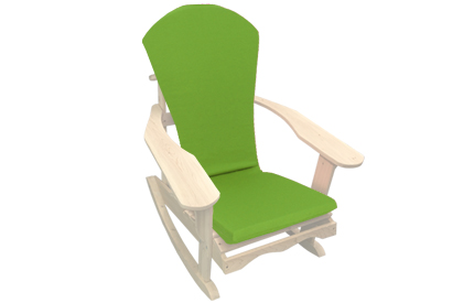 Kiwi / Lime Green Adirondack chair cushion