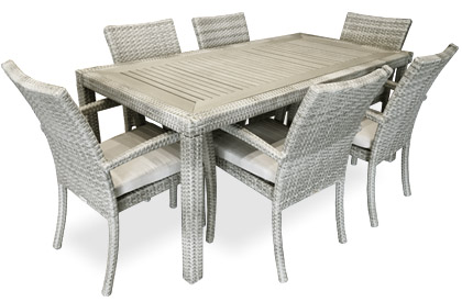 Ciro Stone outdoor dining table for patio or terrace