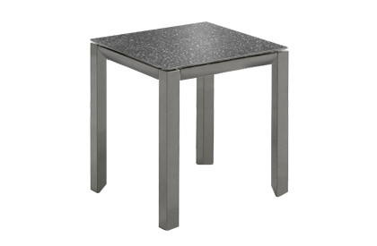 Tama outdoor side table for lounge chair or patio set