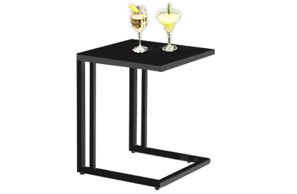 Valencia series side table for lounge chair or patio furniture set