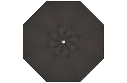 Toile de remplacement noire pour parasol 9 pieds octogonal Promo HRK Patio