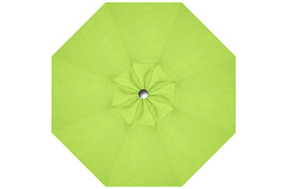 Lime Green replacement canopy fabric for Promo HRK Patio 9 foot octagonal umbrella