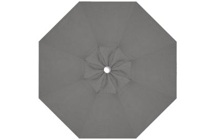 Grey replacement canopy fabric for Treasure Garden 9 foot octagonal market umbrella