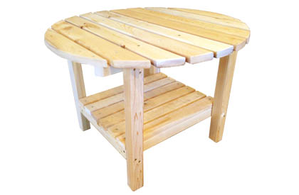 Adirondack coffee table