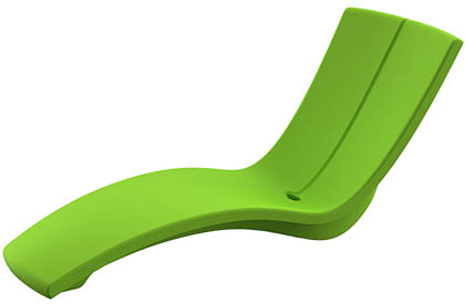 ​Kurve modern lounge chair