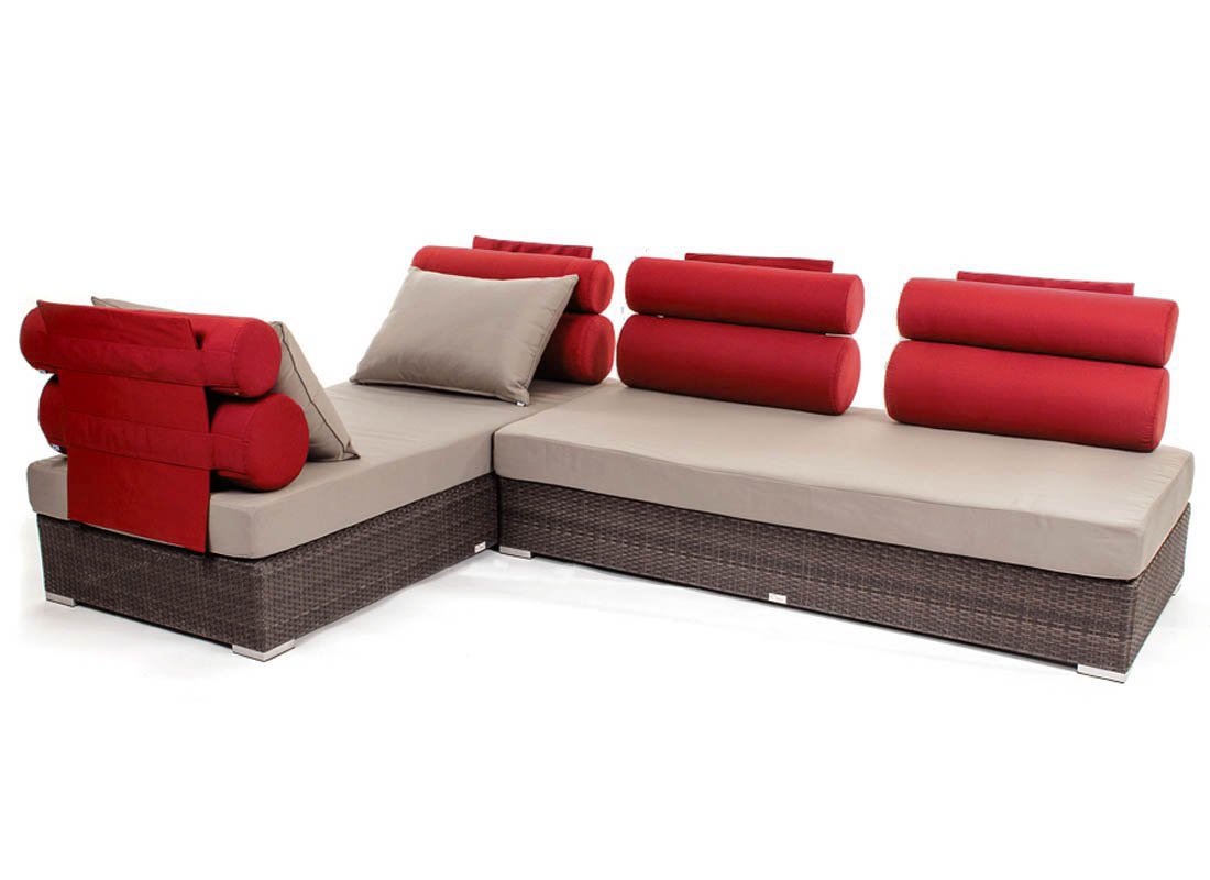 Clio day bed patio and pool side accessories ogni - Ideal furniture place end bed ...