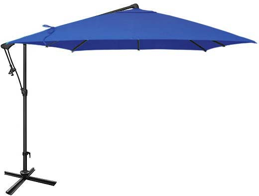 Dark Blue Patio Umbrella Ogni