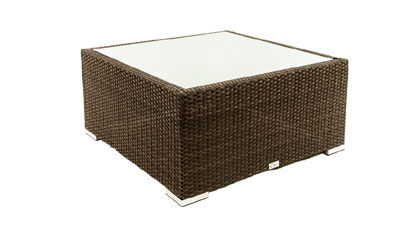 Square outdoor furniture patio coffee table