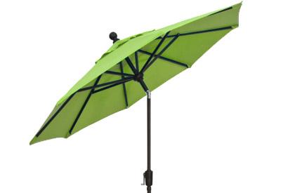 Parasol patio Vert Kiwi 9 pieds de qualité haut de gamme de marque Treasure Garden