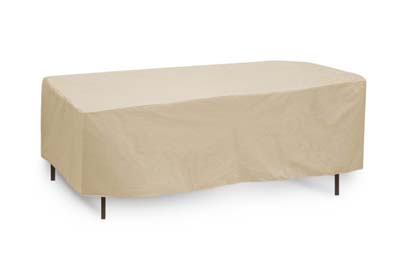 Ciro 6 rectangular patio table cover