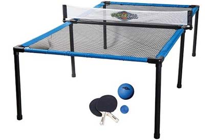 Spyder Pong outdoor trampoline tennis game
