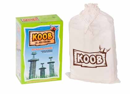 Koob the outdoor Viking game for lawn, yard or beach