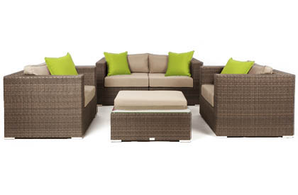 Liana 5 piece Outdoor Patio Furniture Sofa Set