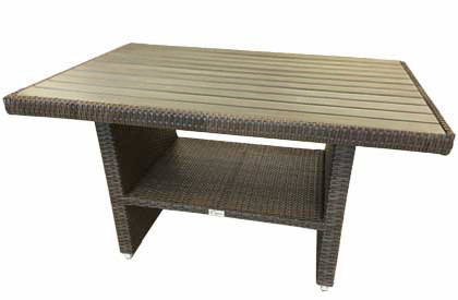 Liana Conversation outdoor compact coffee and dining table
