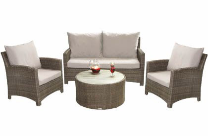 Comfort outdoor patio sofa set