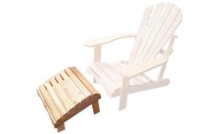 Repose pied pour chaise Adirondack