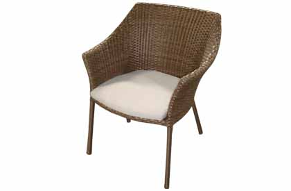 Maya outdoor chair for patio table set - a classic looking patio chair with modern lines