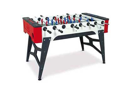 Outdoor foosball soccer table