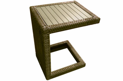 Lounge chair table