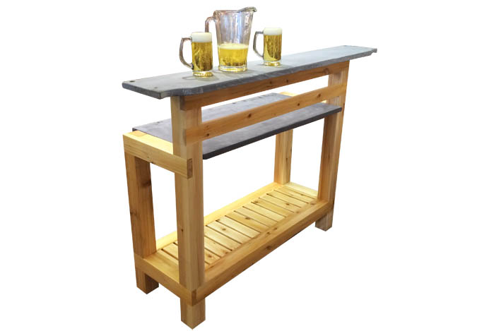 Outdoor Bar Made Of Canadian White Cedar Wood Ogni