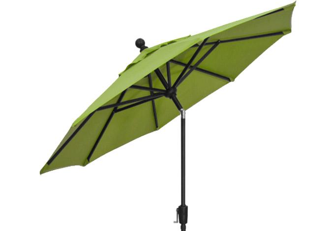 Parasol de marché vert lime 7½ pieds Treasure Garden
