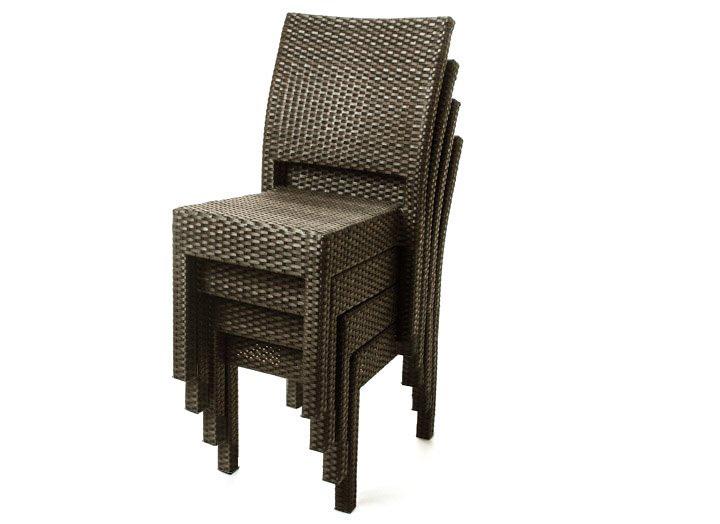 Chaises de table a diner sofia pour meubles de jardin ogni for Meuble rotin montreal