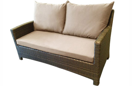 Patio sofa loveseat