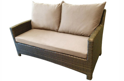 Sofa causeuse patio Confort deux places