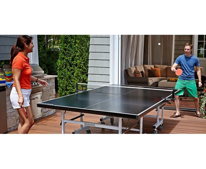 Tables de pingpong ext rieur brunswick ogni for Table exterieur montreal
