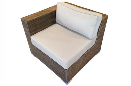 Left side modular outdoor furniture piece