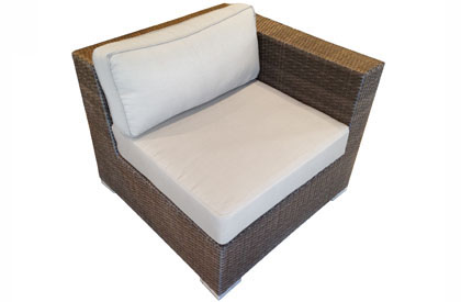 Right side modular outdoor furniture piece